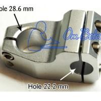 Stem Alloy BMX untuk Fork size 25.4 Stang size 22.2