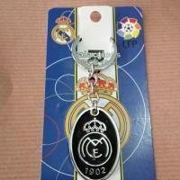 Gantungan Kunci Besi/Key Chain/Aksesories Logo Klub Real Madrid