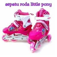 harga sepatu roda anak little pony / inline skate pink pony Tokopedia.com