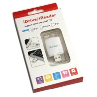 Jual iReader Lightning Card Reader TF Card & Micro SD Slot - White Murah