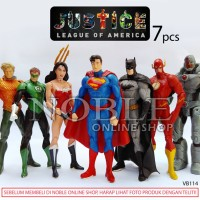 Jual Justice League-Super Heroes Figures-Batman-Superman-Wonder Woman-VB114 Murah