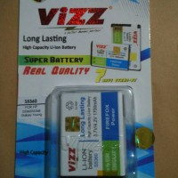 Galaxy Chat B5330 2700mAh Battery / Baterai Vizz Double Power Samsung Galaxy Chat B5330 / S5360 / S5368
