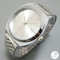 Jam Tangan Nixon Time Teller Silver White