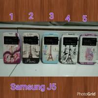 harga Flipcover Samsung J5 / casing Handphone samsung J5 Paris/ Flip Cover Tokopedia.com