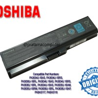 Original Baterai/Battre/Battery Laptop/Notebook TOSHIBA Satellite L310, L510, L515, M300 M305 U400 U405 Pro M300 U400 / Portege