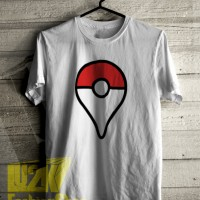 KAOS POKEMON GO GPS LOGO PIKACHU GAME ANDROID DISTRO LU2K L2K 673