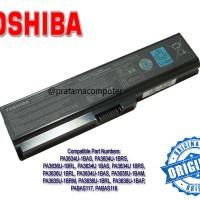 Harga baterai laptop toshiba satellite l310 l510 l515 m300 m305 u400 u405 pro m300 u400 portege m800 seri | Pembandingharga.com