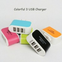 Batok Charger Adapter 3 Usb 3.1A Universal