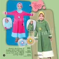 Gamis Jilbab Qirani Kids Anak Muslimah QK48