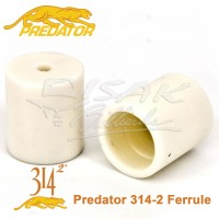 Predator 314-2 Ferrule - Cue Shaft Fiber Stick Billiard Biliar Stik