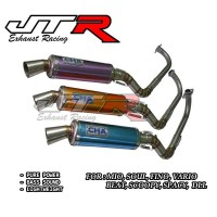 Knalpot Racing Cha Matic Series - Mio, Soul, Fino, Vario, Beat, Scoopy