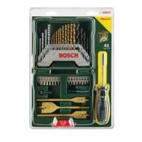 Bosch X-line 41 Pcs Titanium Mata Bor + Mata Obeng Set + Extra Obeng T