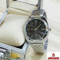 Jam Tangan Nixon Time Teller Silver Black