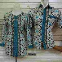 harga Dress/blouse Panjang Atasan Kemeja Wanita Batik Katun Halus Tunik Tokopedia.com