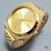 jam tangan pria Nixon 002 full gold