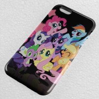 My Little Pony Black iPhone Case & All Case HP