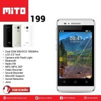harga HANDPHONE TOUCHSCREEN MITO 199 DUAL GSM LCD 3.5 INCH RADIO MULTIMEDIA Tokopedia.com