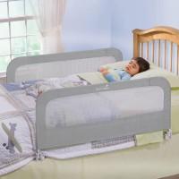 harga Summer Double Folding Bed Rail Grey Tokopedia.com