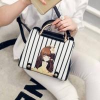 Jual Tas Import Wanita Fashion Korea Handbags Selempang Trendi Elegan Murah