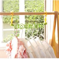 Hanger Gantungan Baju 6 Lubang Gantungan Baju Bulat Laundry Serbaguna