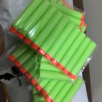Peluru Nerf Darts Refill Green w/ Orange Tip