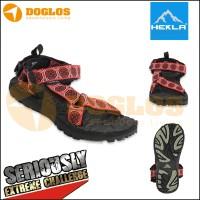 sandal gunung merk rock black red not eiger,rei,consina,teva,outdoor