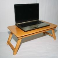 harga Meja Laptop Lipat Kayu Jati Portable Serbaguna Untuk Belajar Tokopedia.com