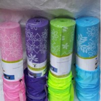 Jual Matras Yoga 8mm Motif Bunga / Yoga Matt 8 mm free bag Murah