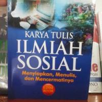 Karya Tulis Ilmiah Sosial (revisi) - Yunita Winarno - Ibnu Wahyudi -