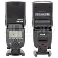 MEIKE MK600 CANON (99.9% DARI CANON 580EXII)