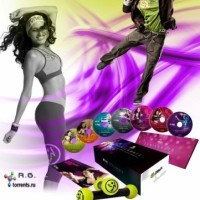DVD Zumba Fitness Exhilarate