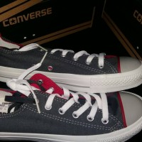 harga Sepatu Casual Converse All Star Original Produk / Grey Tokopedia.com