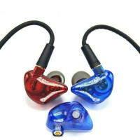 DIY Master Earphone High Resolution Dual Driver + Detacable Cable