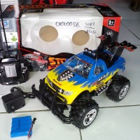 RC Mobil BigFoot Offroad Jeep STORM Wilderness skala 1:16