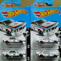HOTWHEELS '73 BMW 3.0 CSL RACE CAR 2016 PUTIH (FIRST EDITION)