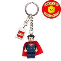 LEGO 853590 - Superman Dark Blue Suit Key Chain (movie version)