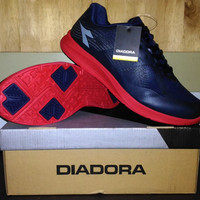 harga Sepatu Lari Diadora Mens Navy Original Tokopedia.com