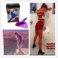 PEZ Female Urinal - Corong Pipis untuk Wanita saat Travel