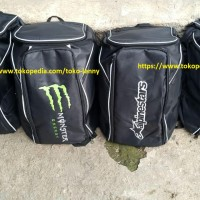 TAS RANSEL HELM motif FOX, KTM, Alpinestar, Monster Energy,NEW edition
