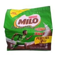 Milo Malaysia 3 in 1 Protomalt (18 Sachet + 3 Sachet)