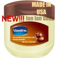 Vaseline Petroleum Jelly Cocoa Butter 1.75 Oz 49 g gr gram USA