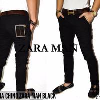 Celana Chino Zara Black / Chino Zara Hitam / Zara Chino Hitam XCMZ