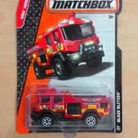 MATCHBOX BLAZE BLITZER RED MBX HEROIC RESCUE 2015 #66/120