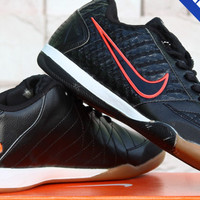 Sepatu Futsal Import/KW Super Nike Lunar Gato II Hitam Grade Ori