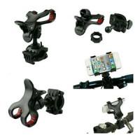harga Holder Sepeda Motor Japit Setang / Universal Bike lazypod mount phone Tokopedia.com