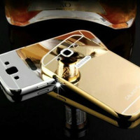 Samsung Galaxy S3 Bumper Hard Case Mirror Aluminium With Back Case Pc