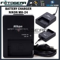 Charger Nikon MH-24 for EN-EL14 (D3100/D3200/D3300/D5100/D5200/D5500)