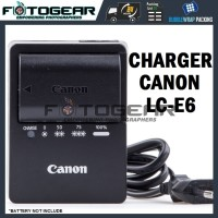 Charger Canon LC-E6/LC-E6E for LP-E6 (5D Mark II/III, 6D/7D, 60D/70D)
