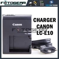 harga Charger Canon LC-E10C for LP-E10/EOS 1100D/1200D/Rebel T3/EOS Kiss X50 Tokopedia.com