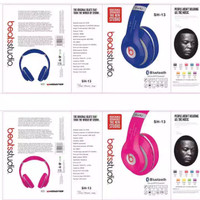 Beats Bluetooth Stereo Dynamic Headphones Sh-13